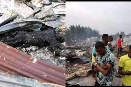 Married Man Burnt To Death At Girlfriend's Apartment In Portharcourt