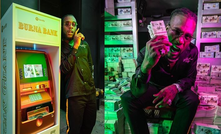 Burna Boy Launches Own Bank (Photos)