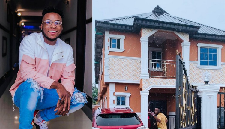 Popular DJ Kaywise Acquires Brand New Exotic House (Photos)