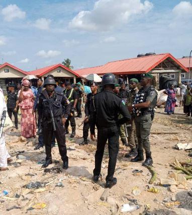 Image result for Tension as Yoruba, Hausa clash in Lagos market