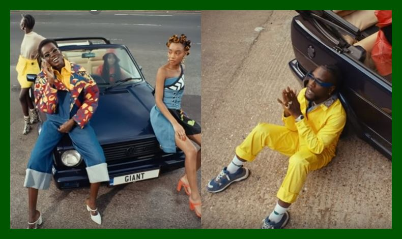 Burna Boy Drops Playful Video of 'Pull Up'