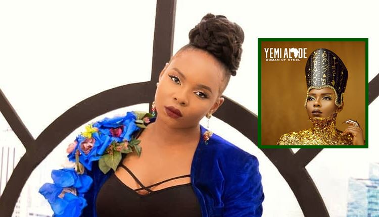 Yemi Alade Shares Cover Art, Tracklist For Upcoming Album, 'Woman Of Steel'