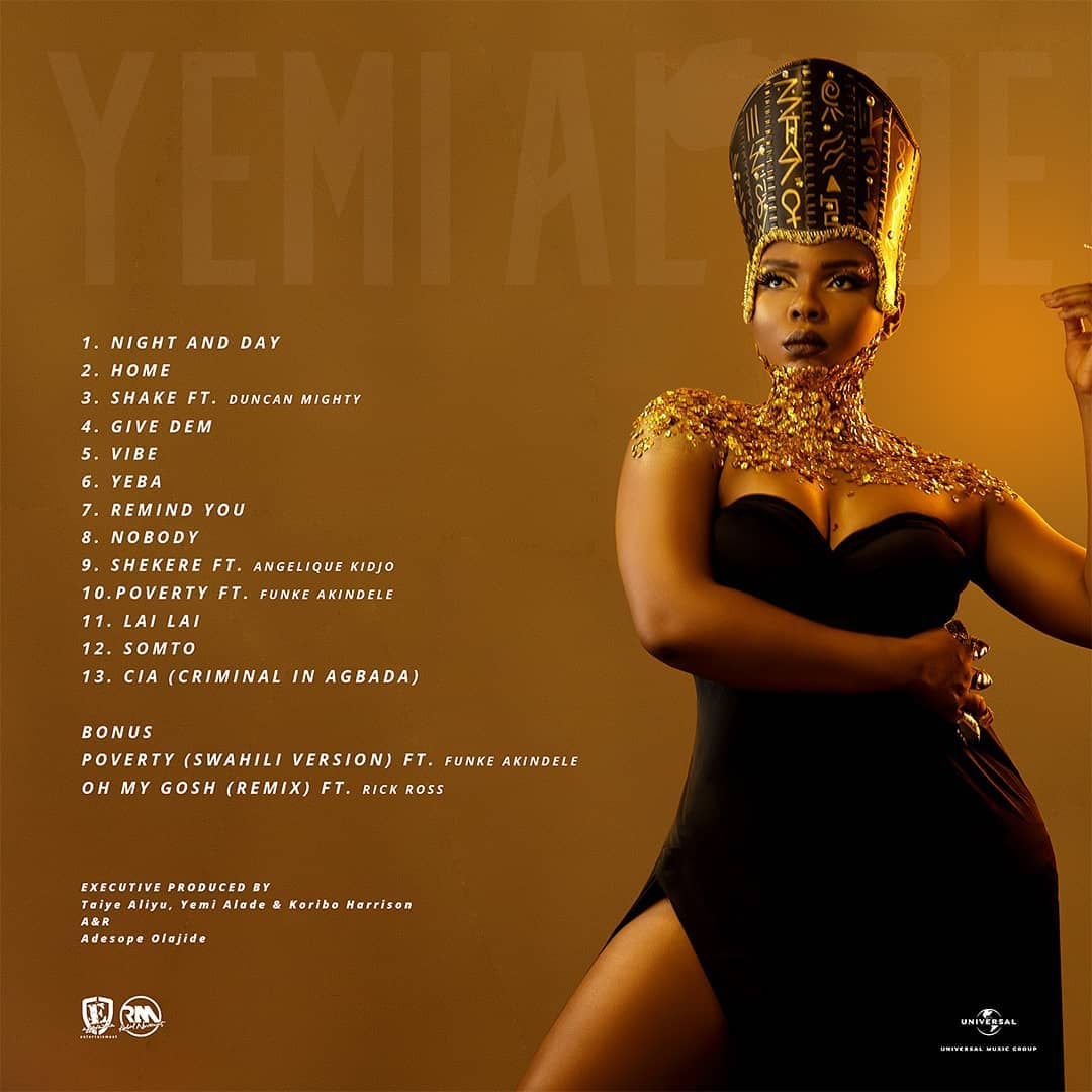 Yemi Alade Drops New Body Of Work, 'Woman Of Steel'