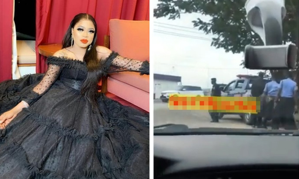 Image result for images of Why we shut down venue of Bobrisky's party — Lagos state Police