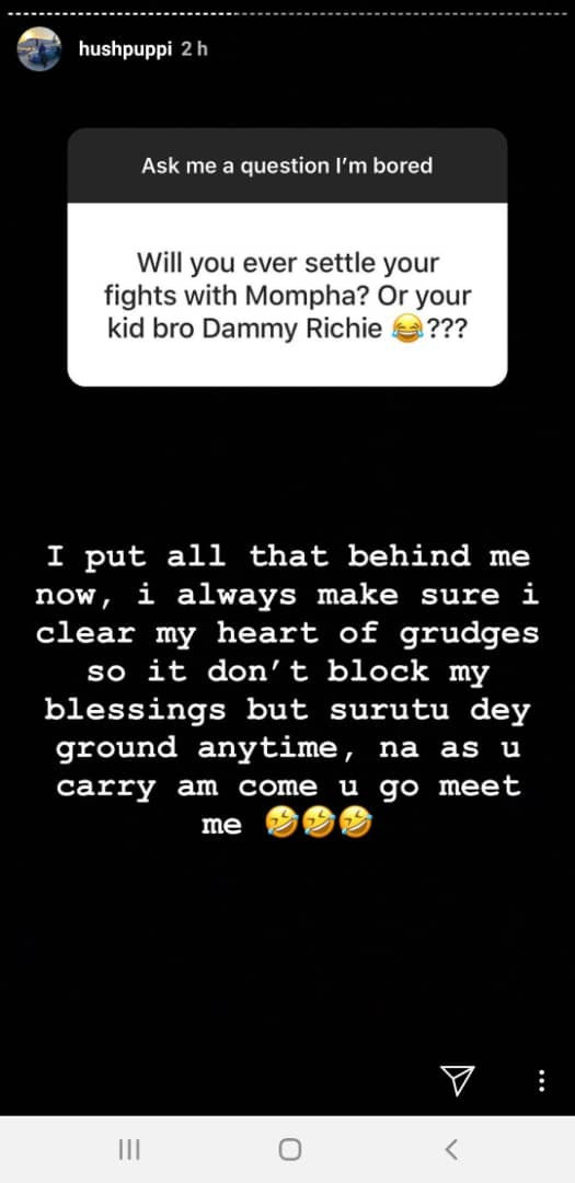Hushpuppi speaks on his beef with Mompha, why he doesn