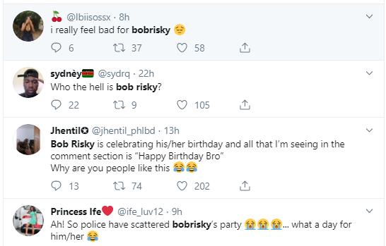 Nigerians react after Police shutdown venue of Bobrisky