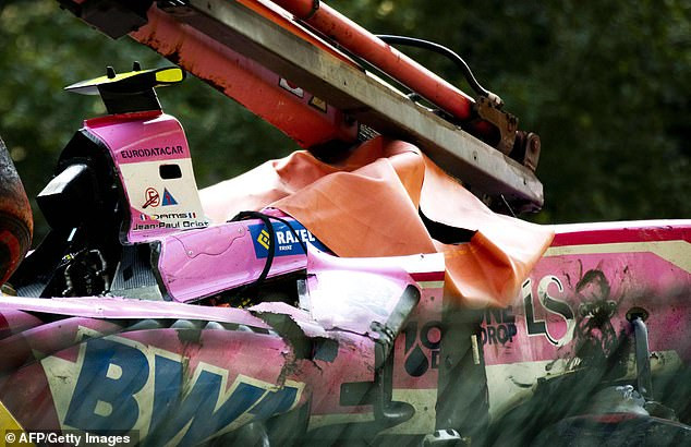 French Formula 2 driver Anthoine Hubert, 22, is killed in a crash at the Belgium Grand Prix