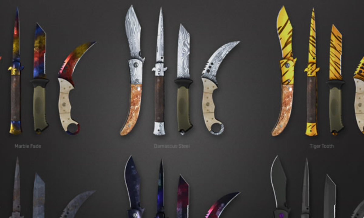 Popularity of CS: GO Knives
