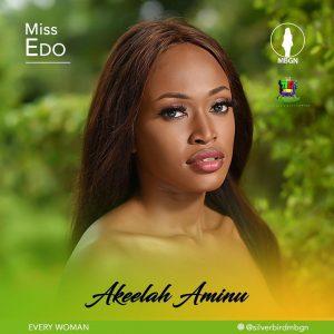 Akeelah Aminu, Miss Edo