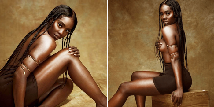 Image result for Tiwa Savage Sets Instagram On Fire With Half-Naked Photos