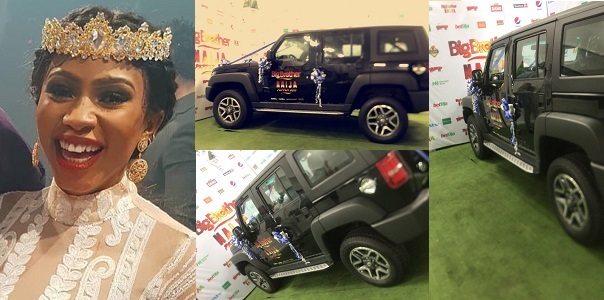 Image result for Photos Of The N25 Million SUV #BBNaija Mercy Won (Video)
