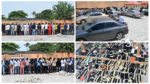 UPDATE: PHOTOS: Mass harvest as EFCC arrests 94 suspected internet fraudsters in Osogbo