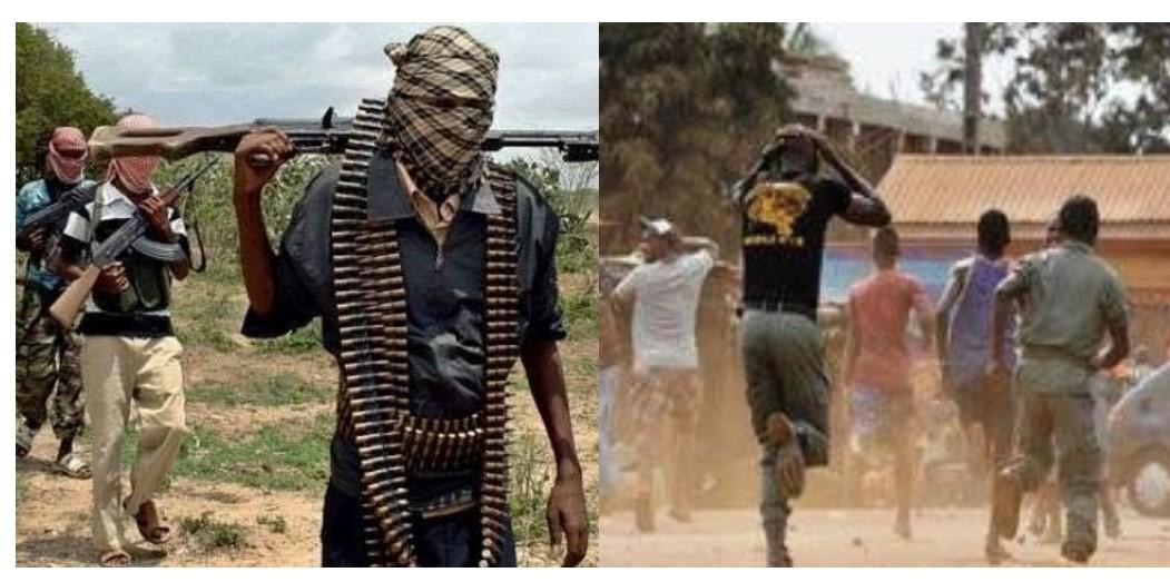 Image result for Hundreds Of Villagers Flee As Bandits Invade Kaduna Villages