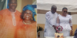 Wife catches husband in secret wedding with another woman (Photos)