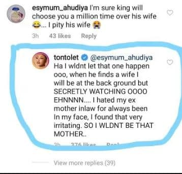 tonto dikeh reveals why she hated olakunle churchills mother - Nollywood Actress Tonto Dikeh Reveals Relationship With Ex-Mother-In-Law