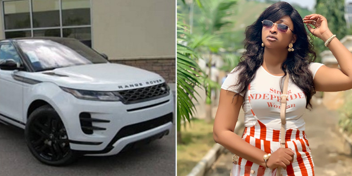 Image result for images of 'A stranger once bought me a Range Rover Evoque' – Etinosa
