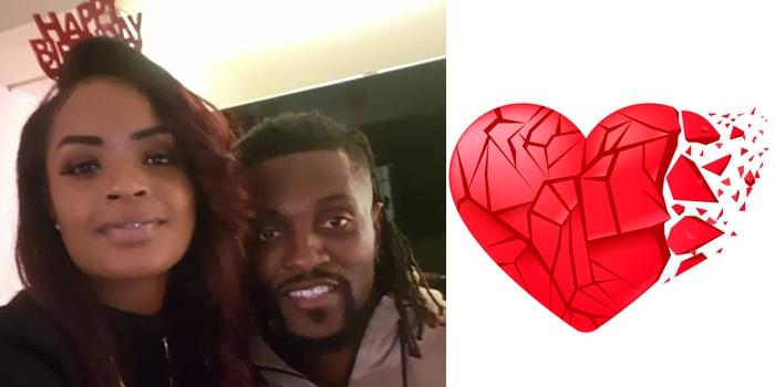 Adebayor confirms split from his girlfriend, Dillish Matthews