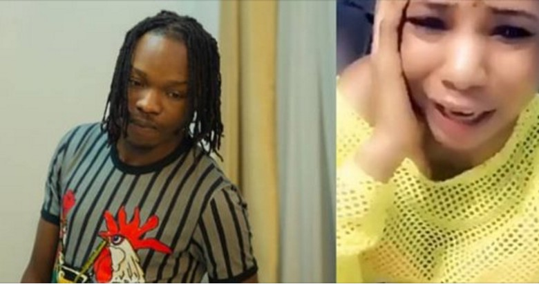 Nigerian lady in tears as she professes her undying love for Naira Marley (Video)