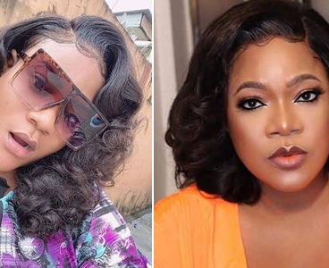 Toyin Abraham defends Nkechi Blessing after exposed escapades with Adeniyi Johnson, Mompha & others
