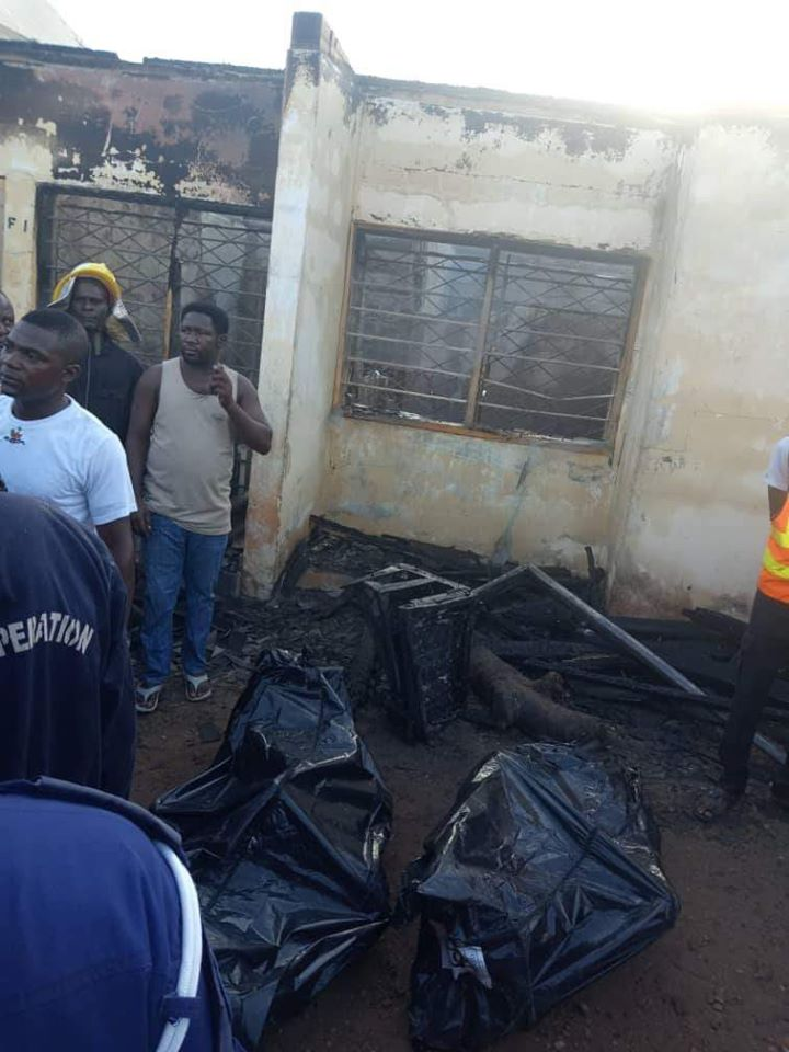 PHOTOS: Permanent Secretary, His Pregnant Wife And Two Kids Burnt To Death In Fire Outbreak 2
