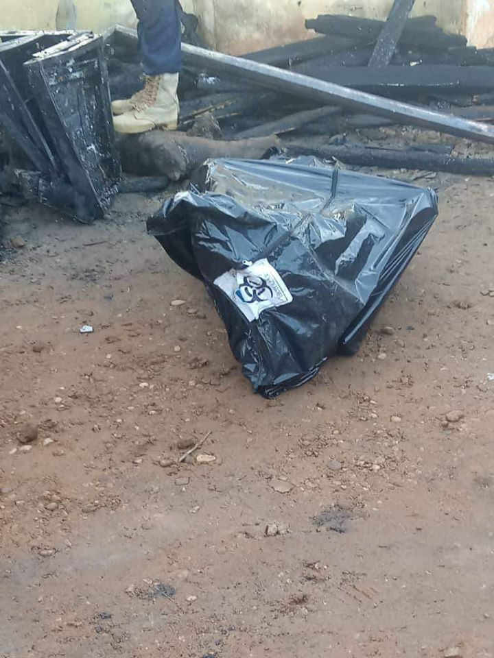 PHOTOS: Permanent Secretary, His Pregnant Wife And Two Kids Burnt To Death In Fire Outbreak 3