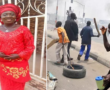 Kogi PDP women leader burnt to death, as thugs prevent rescue