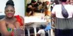 Viral Video Of Ghanaian Gospel Singer Allegedly Undergoing Rituals For Fame