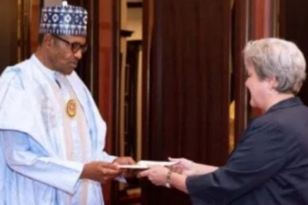 Image result for Human rights abuse: My conscience is clear, Buhari tells US Envoy