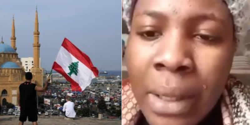 Image result for 23-year old trafficked Nigerian single mother in Lebanon rescued,