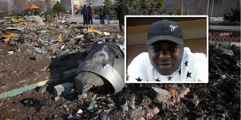 Ukrainian plane crash: Nigerian, Dauda Onoruoiza identified among 176 killed by Iran's 'misfire'