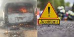 Sad! Seven adults, two children burnt beyond recognition in fatal accident in Ogun