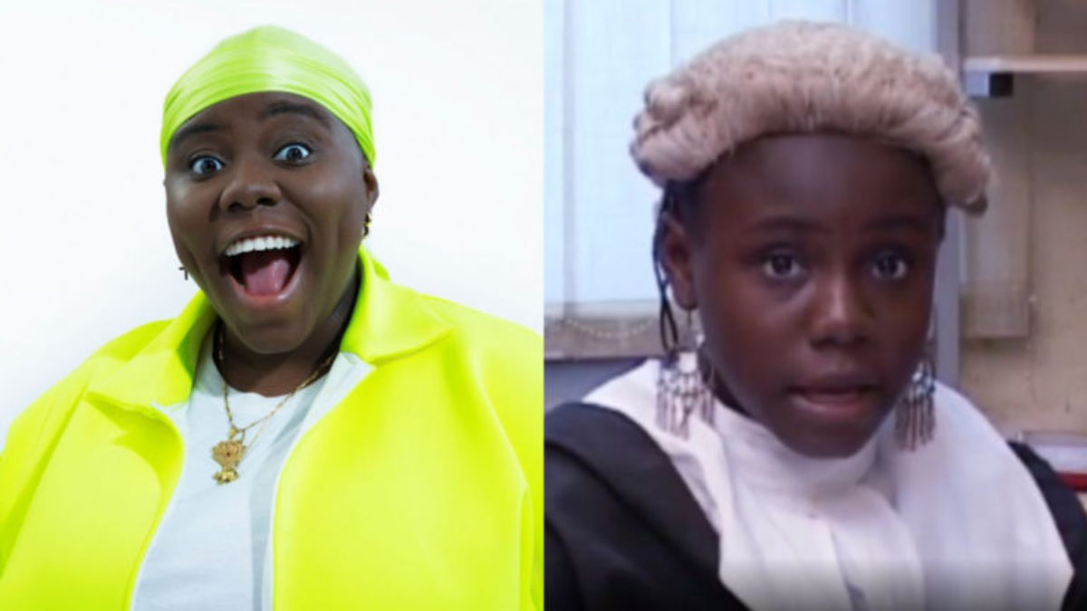 Checkout video of Teni as a kid playing Judge on KKB show