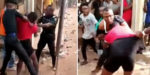 The story behind viral video of DPO fighting in public over N7,000 in Owerri