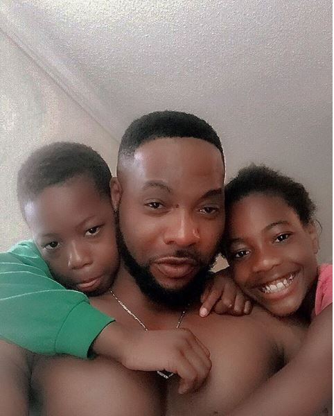 Bolanle Ninalowo and kids