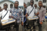 Student of Boys Technical College, Aba, built Power Generator that functions without fuel