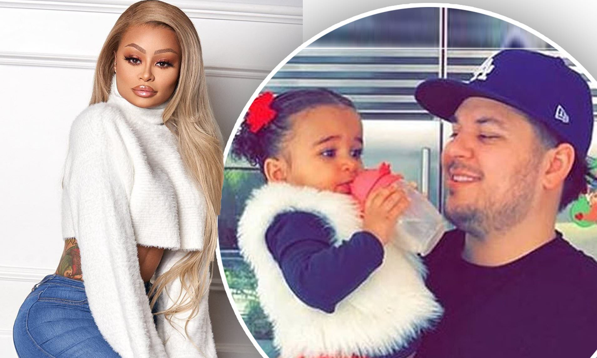 Image result for Rob Kardashian denied primary custody of daughter Dream in Blac Chyna court battle