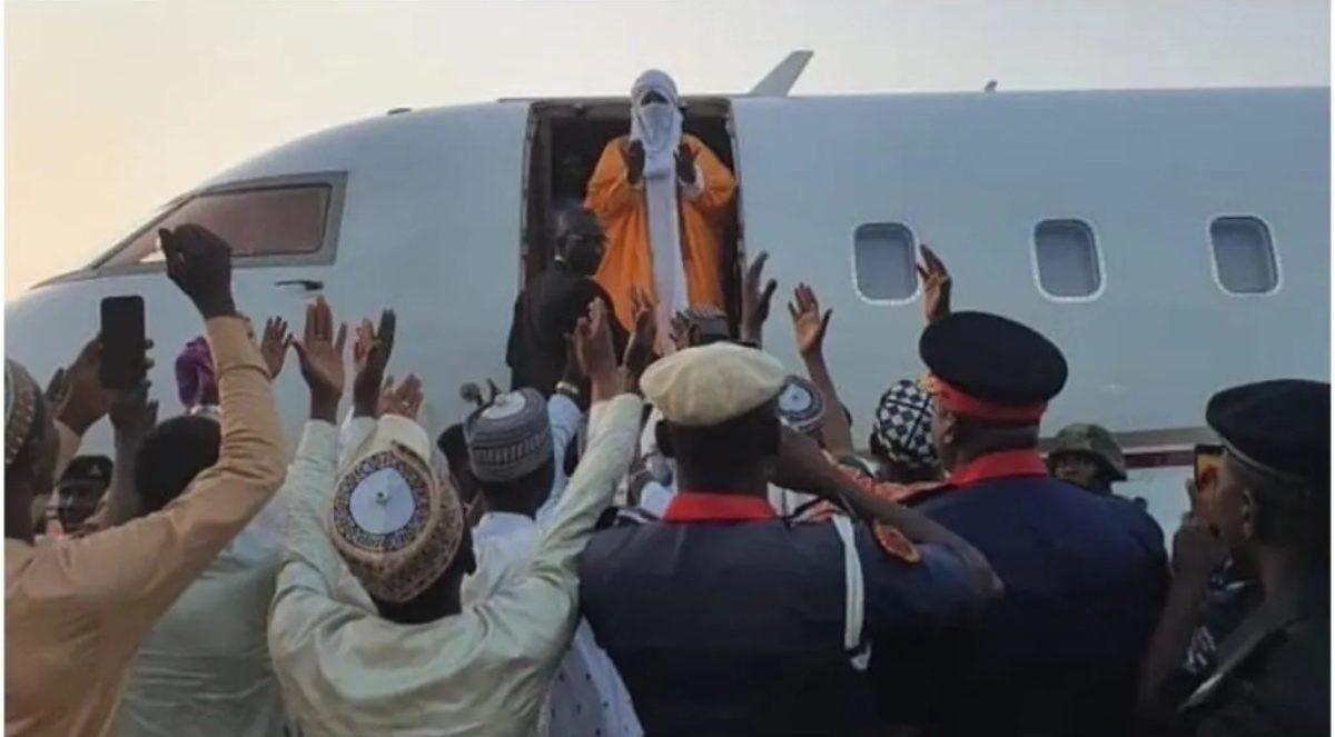 Image result for Sanusi speaks after dethronement