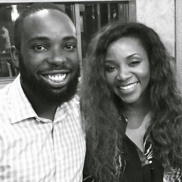 Genevieve and Alhaji Ishaya Bako