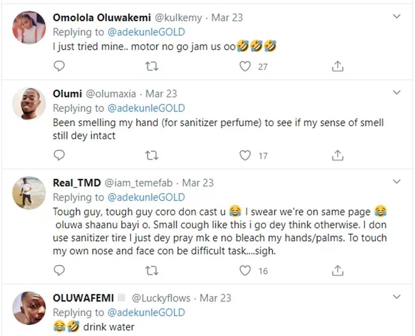 Adekunle Gold reveals his methods for coronavirus testing, fans react