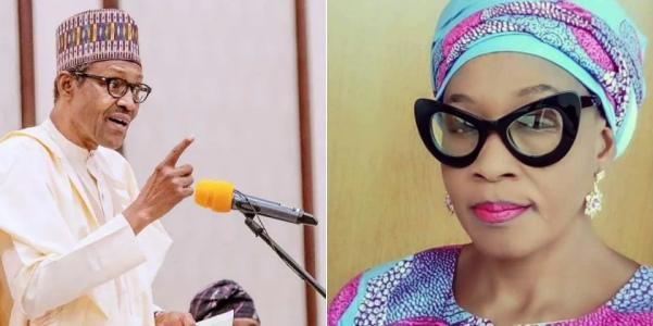 "Coronavirus: ""Buhari is very sick with persistent coughing"", Kemi Olunloyo claims"