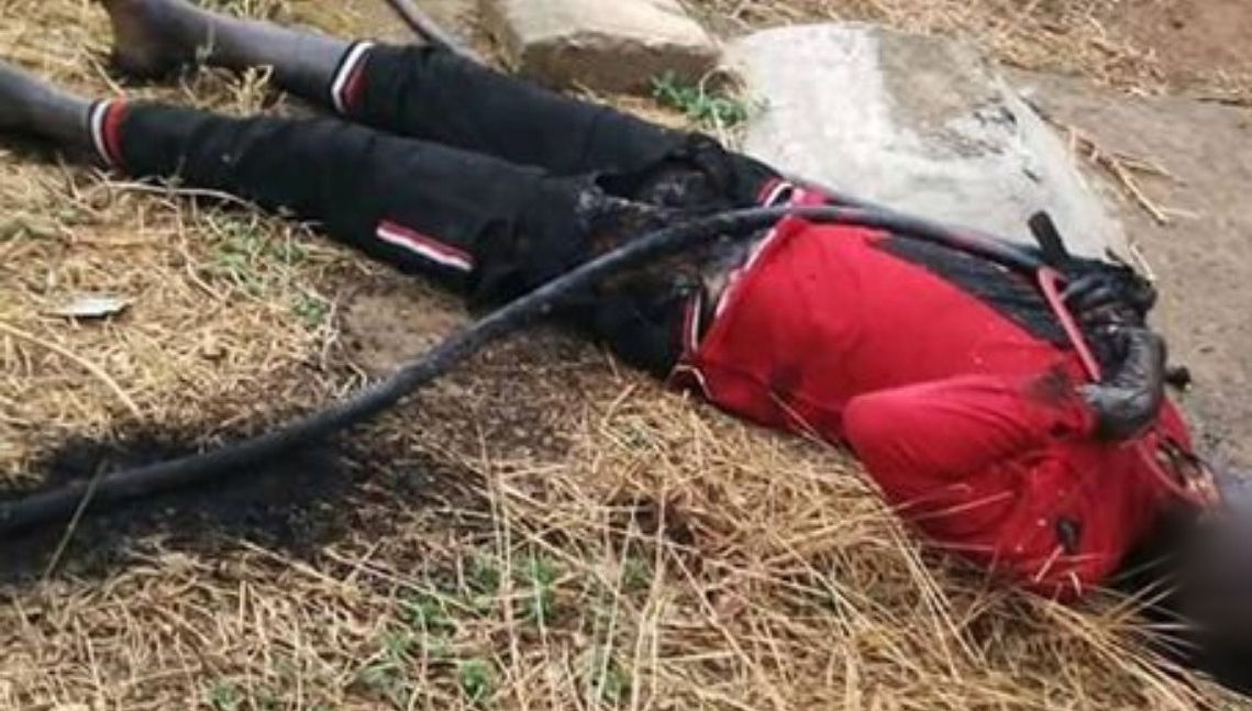 Suspected cable thief electrocuted while vandalising transformer in Enugu