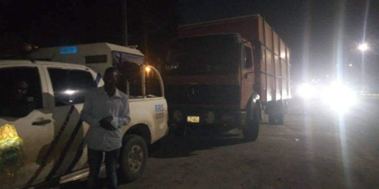 RRS rescues eight passengers, arrests fleeing truck driver