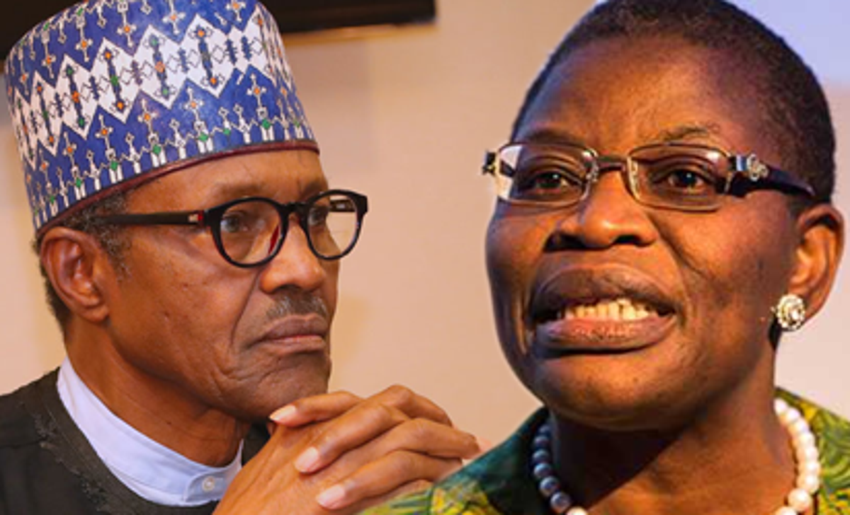 You may be in office but definitely not in power', Oby Ezekwesili slams President Buhari