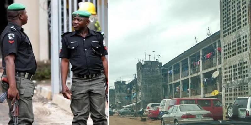 Lagos Police Command renders cops homeless, orders evacuation in Ikeja Baracks