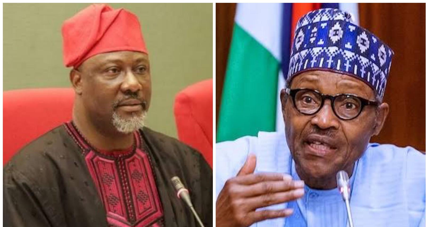 Dino Melaye Reacts As Buhari Locks Down FCT, Lagos, Ogun