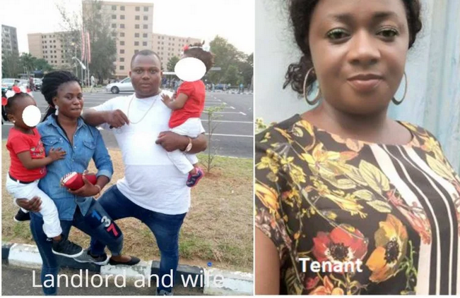 Lagos landlord and wife slash tenant's face over unpaid bills