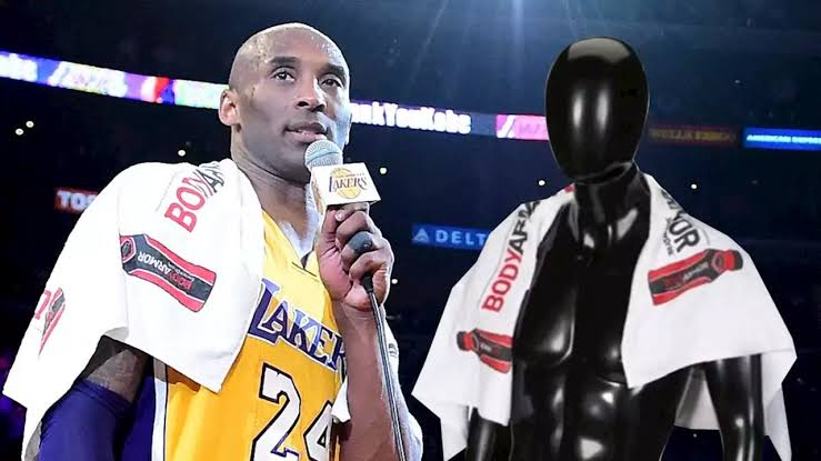 Late Kobe Bryant's towel sold for N12million