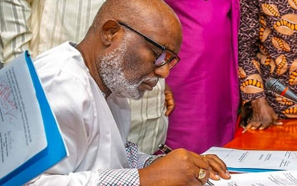 Akeredolu signs infectious disease law