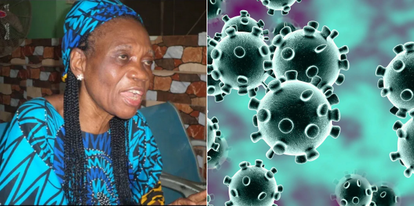 COVID-19: Female herbalist claims she have anti-coronavirus plant in her garden