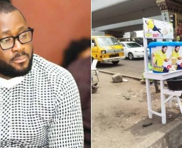 Desmond Elliot donates hand wash to strengthen fight against Coronavirus